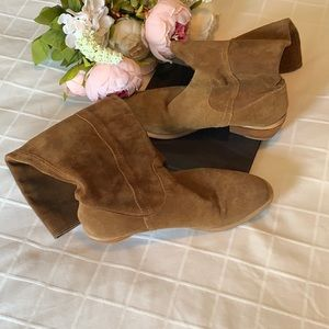 Bronx Suede Boots 37